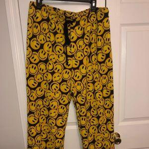 Smiley face PJ pants!😁😁😁